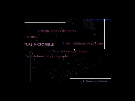 Machines à écrire, Antoine Denize et Bernard Magné, Vidéo 1